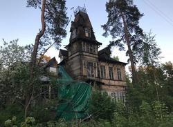 Здание дачи Кривдиной в Сестрорецке признают аварийным
