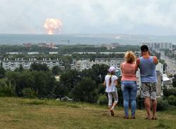 Картина дня: взрывы в Красноярском крае и спасение краснокнижного гуся