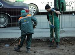 В Смольном рассказали, откуда на дорогах Петербурга появляются ямы весной