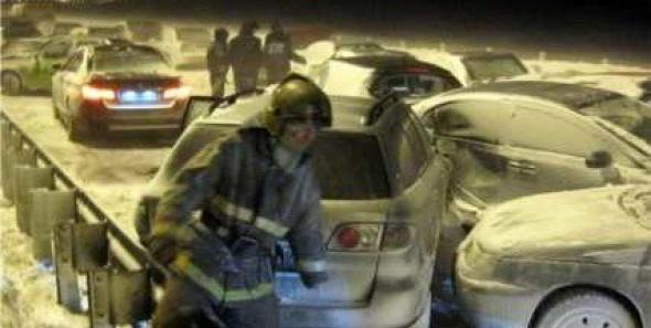 В массовом ДТП в Ленобласти столкнулись не 20, а 9 машин
