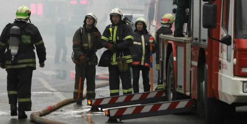 Минувшей ночью в Петербурге горело отделение Почты России