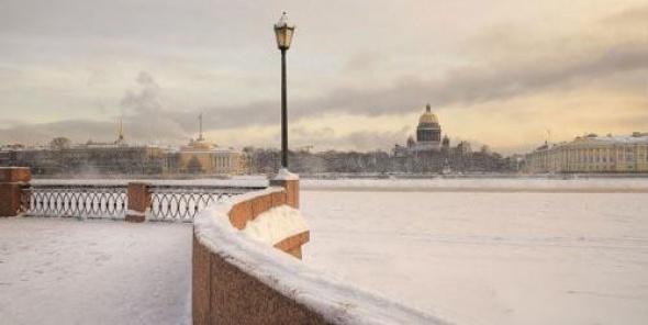 В Петербурге до -15, без осадков