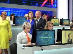 «Прямая линия» с Путиным в 2018 году стала самой непопулярной за семь лет