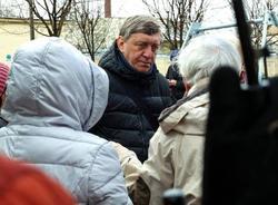 Вице-спикер ЗакСа Сергей Соловьев встретился с жителями Петербурга