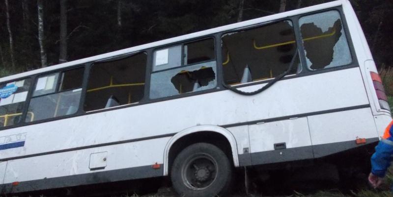 На Пискаревском проспекте маршрутка протаранила автобус, есть пострадавшие