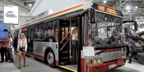 Газовые автобусы выйдут на маршруты с 23 января