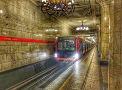 """На """"красной""""ветке метро все составы заменят на """"Юбилейные""""к 2027 году"""