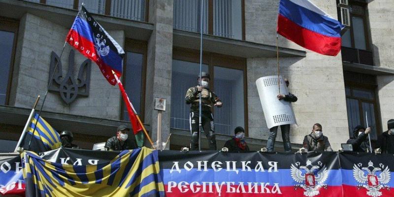 Митингующие в Донецке приняли резолюцию в поддержку Крыма