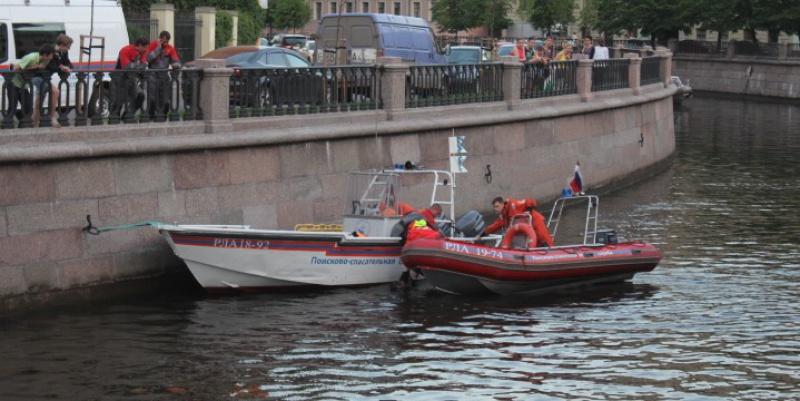 Мужчина утопился в канале Грибоедова