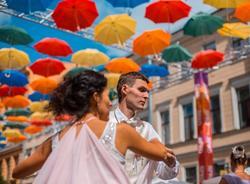 Петербуржцев попросили скинуться на «Аллею парящих зонтиков»