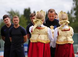 Капитан сборной Англии по футболу поблагодарил Россию за теплый прием