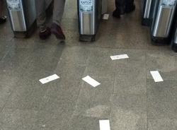 Урны для чеков в петербургском метро появятся в августе