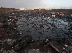 """В """"Красном Бору""""все еще сохраняется возможность утечки химических отходов"""