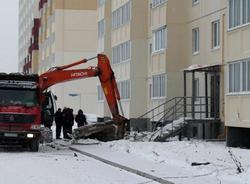 В Омске в жилом доме произошел мощный взрыв газа