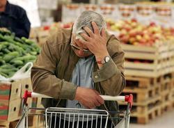 Опрос: Россияне больше всего боятся роста цен и войны