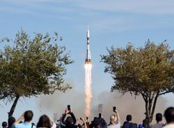 При запуске ракеты «Союз» на Байконуре произошла авария