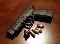 На Ваське задержали мужчин с оружием