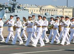 Петербуржцев не пустят на просмотр парада ко Дню ВМФ 25 июля