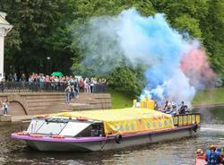 Центр Петербурга 12 августа погрузится в Речной карнавал
