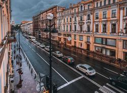 Картина дня: шторм в Петербурге и отключение фонтанов