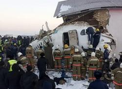 Картина дня: крушение самолёта в Казахстане и смерть Галины Волчек