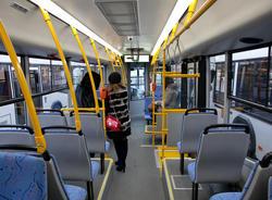 В петербургском Центре соцпомощи оценили доступность новых автобусов для инвалидов
