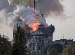 Картина дня: причина пожара в Нотр-Даме и «Библионочь-2019» в Петербурге
