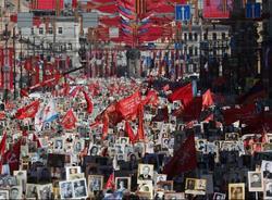 Картина дня: День Победы, акция «Бессмертный полк» и поздравления «Зенита» и СКА