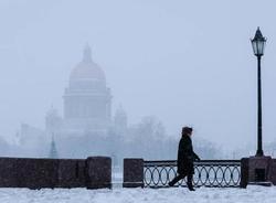 В декабре солнце светило в Петербурге меньше 90 минут