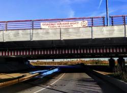 Петербургский депутат предложил украсить «мост глупости» новогодней подсветкой для безопасности водителей