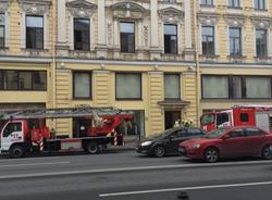 Картина дня: пожар на Невском проспекте и травма Малкома