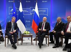 Картина дня: выступление Путина на Арктическом форуме и канатная дорога между Петербургом и Ленобластью