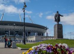 """Глава оргкомитета """"Россия-2018""""ответил Роналду на критику газона """"Зенит-арены"""""""