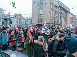 В Петербурге сторонника Навального арестовали в суде на заседании по чужому делу