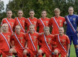 Российские футболистки впервые одержали победу на чемпионате Европы