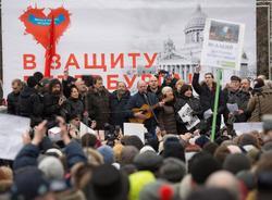 Депутаты ЗакСа собираются провести 1 мая марш в защиту Петербурга