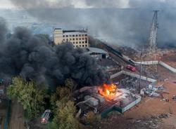 Картина дня: пожар на ТЭЦ в Мытищах и новый главный тренер СКА