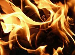 В Курортном районе в результате возгорания автобуса погиб один человек