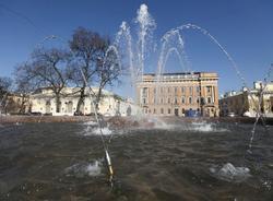 На ремонт фонтанов в Петербурге выделят более 10 млн рублей