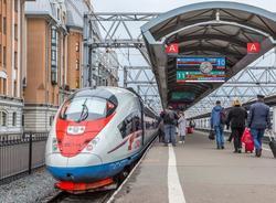 Билеты на вечерние «Сапсаны» между Петербургом и Москвой по сниженной цене поступили в продажу