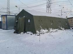 В Петербурге подготовили почти 500 мест для обогрева бездомных