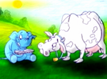 Голубой слон решает кризис коровьей идентификации